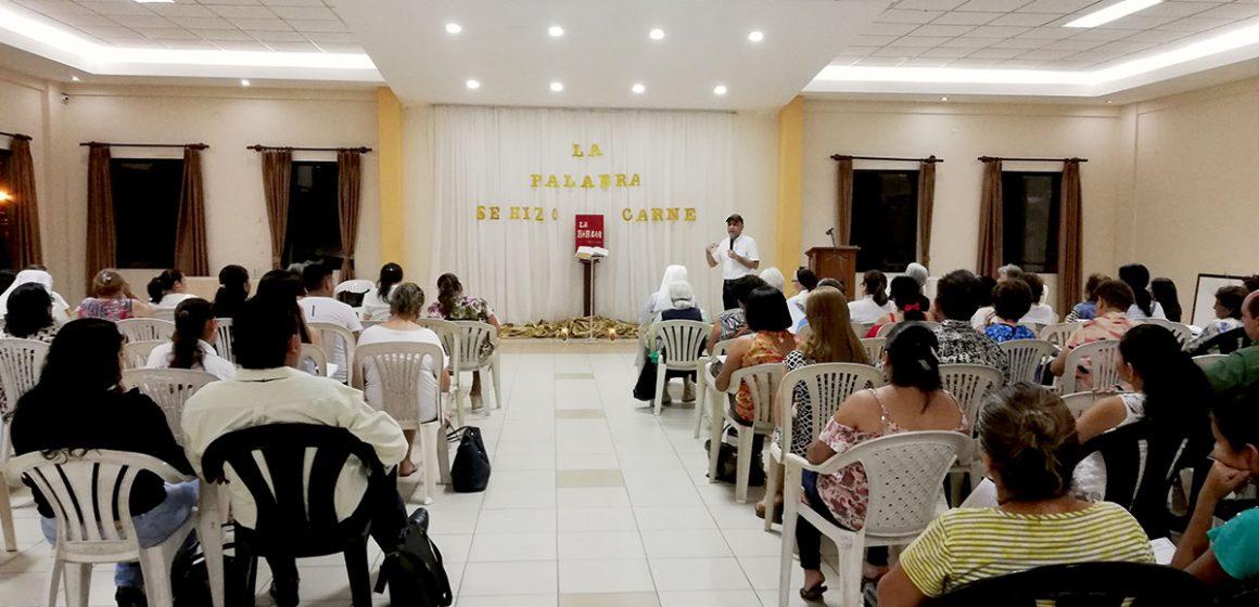 Con mucho éxito, hoy termina la semana de formación bíblica.