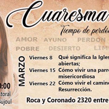 Charlas de Formación para la evangelización en tiempo de Cuaresmal.