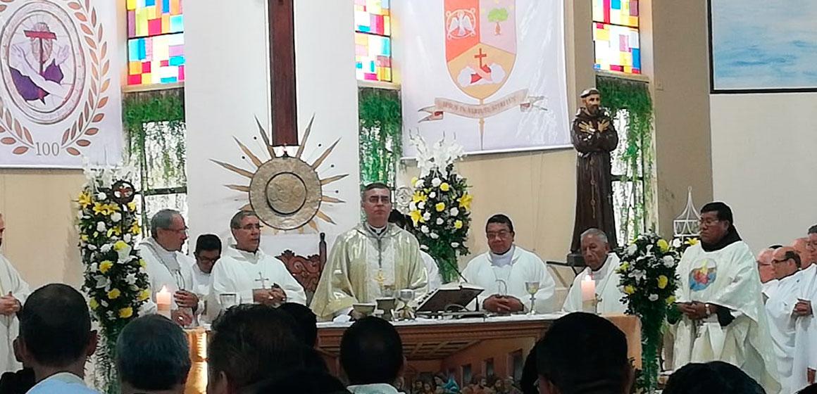 Mons. Jesús Galeote, OFM es el nuevo Obispo del Vicariato de Camiri.