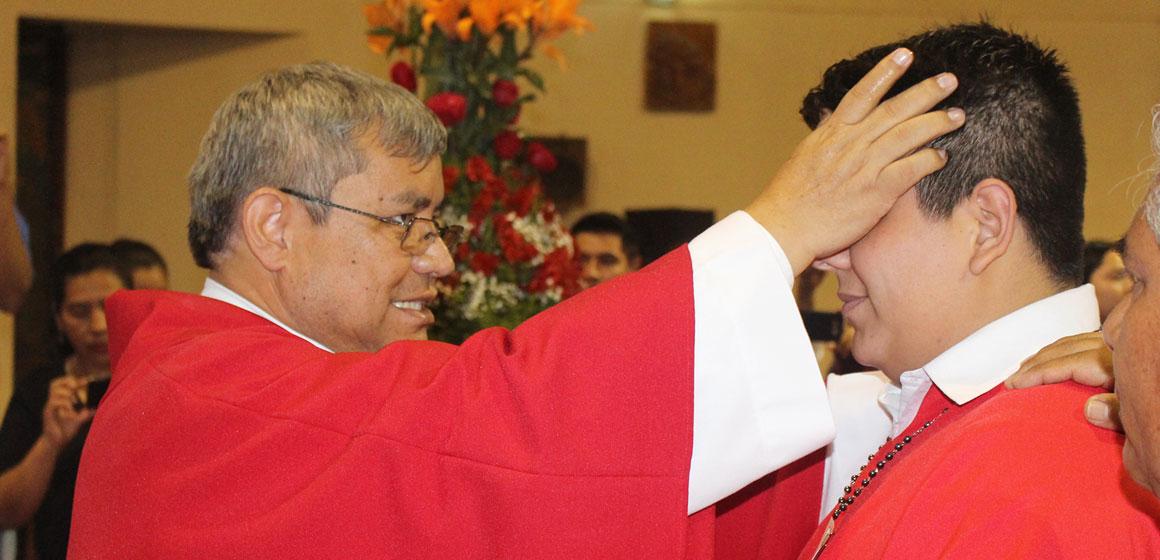 """Padre Crespo: """"El Espíritu Santo nos dará la fuerza para caminar día a día"""""""