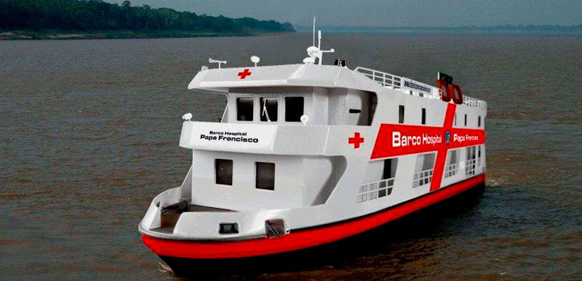 Amazonia. Barco hospital «Papa Francisco»: asistencia sanitaria y Evangelio