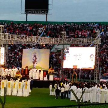 Mons. Gualberti exhortó superar la cultura de la confrontación y buscar la reconciliación.