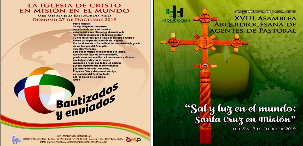 Inicia la XVIII Asamblea Arquidiocesana de Agentes de Pastoral de Santa Cruz.