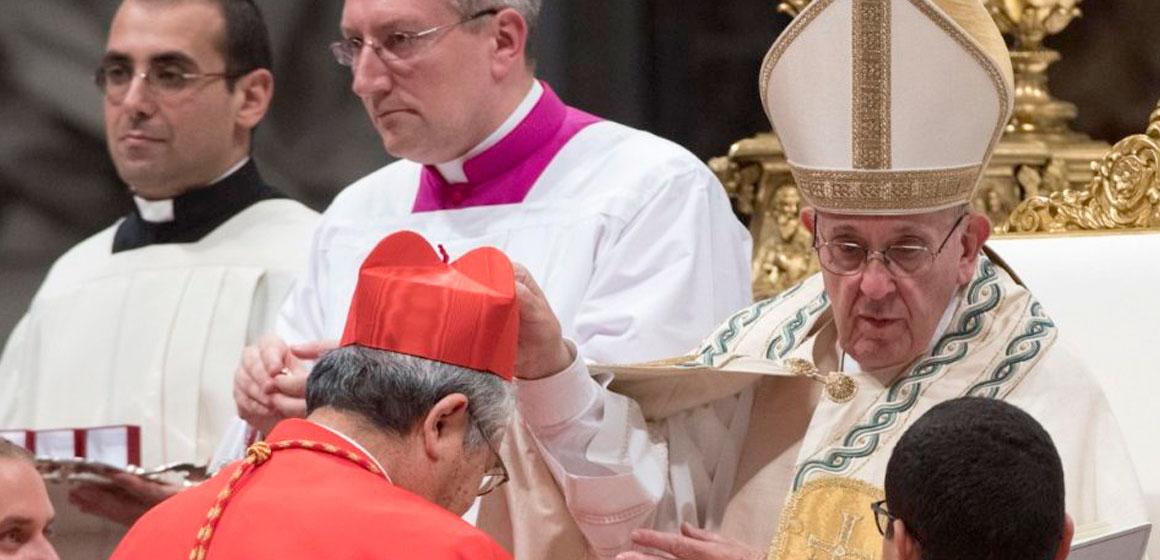 El 5 de octubre, habrá Consistorio para la creación de 13 nuevos Cardenales.