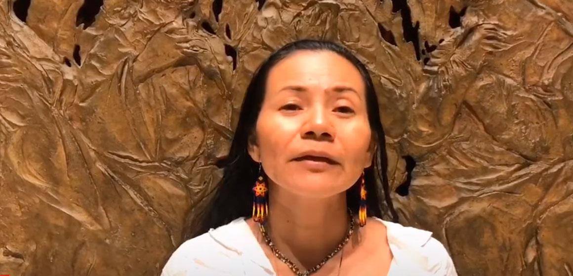 Líder indígena Anitalia Pijachi del pueblo Okaina Witoto: «Amazonía somos todos»