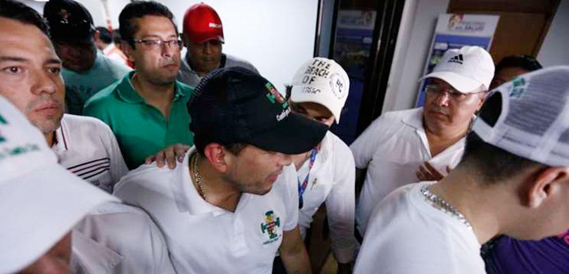 """Camacho: """"Exigimos la renuncia del presidente Morales, estas medidas no se van a levantar"""""""