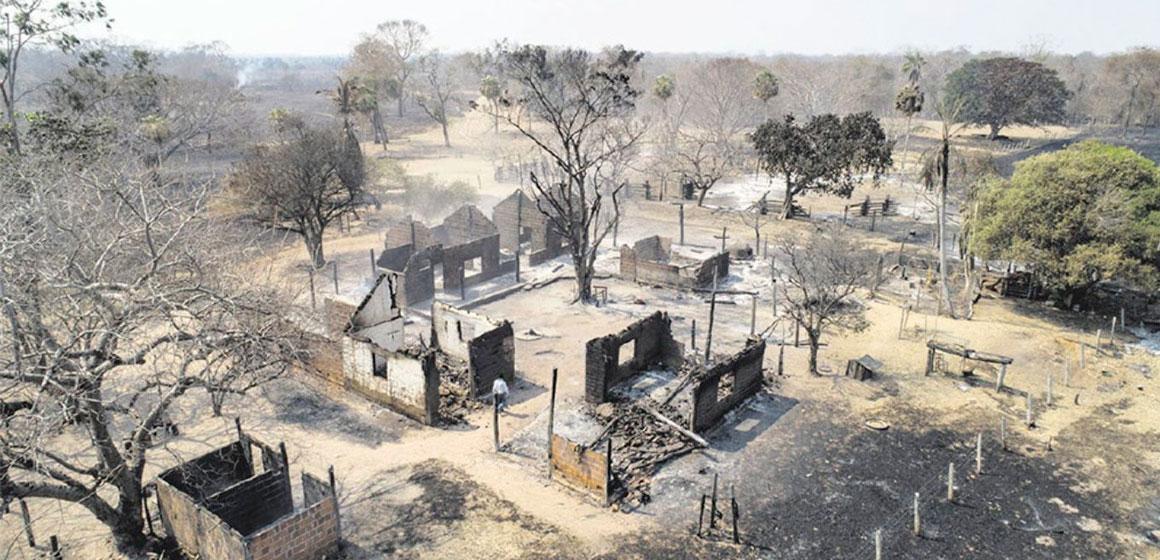 Los Incendios en la Chiquitania dejaron más de 10.000 familias afectadas