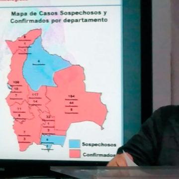 Se elevan a 81 los casos positivos de coronavirus en Bolivia