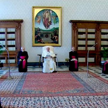 El Papa: para ver a Dios hay que liberarse de los engaños del corazón
