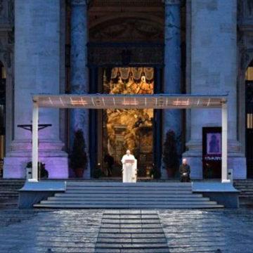 Homilía completa del Papa Francisco en el momento extraordinario de oración por la pandemia