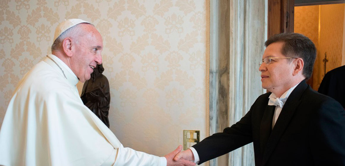 El Papa Francisco nombra nuevo responsable para la Comisión de América Latina