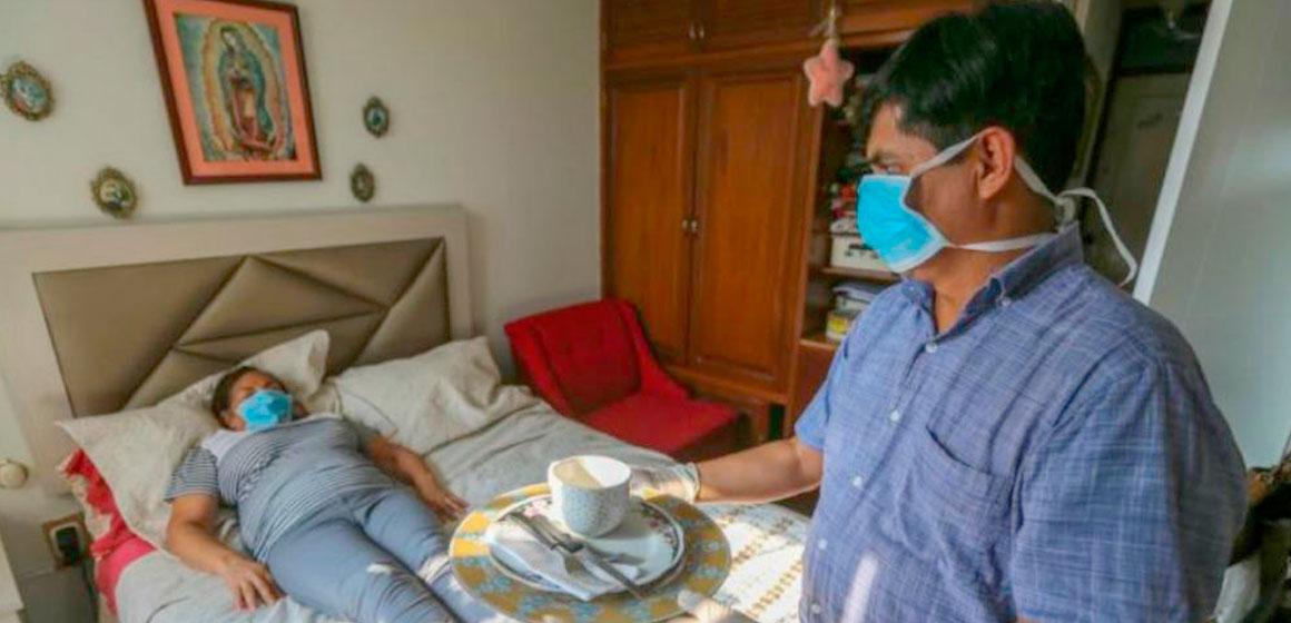 ¿Cómo cuidar a un paciente con coronavirus en casa?