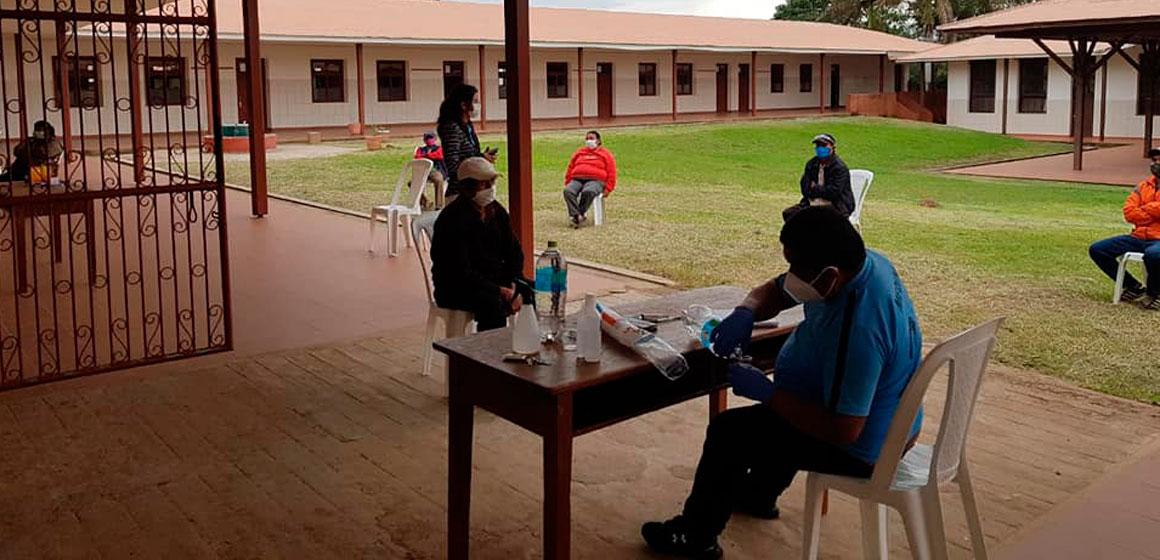 """Voluntarios """"Ángeles de COVID – 19"""" atienden enfermos en San Javier"""