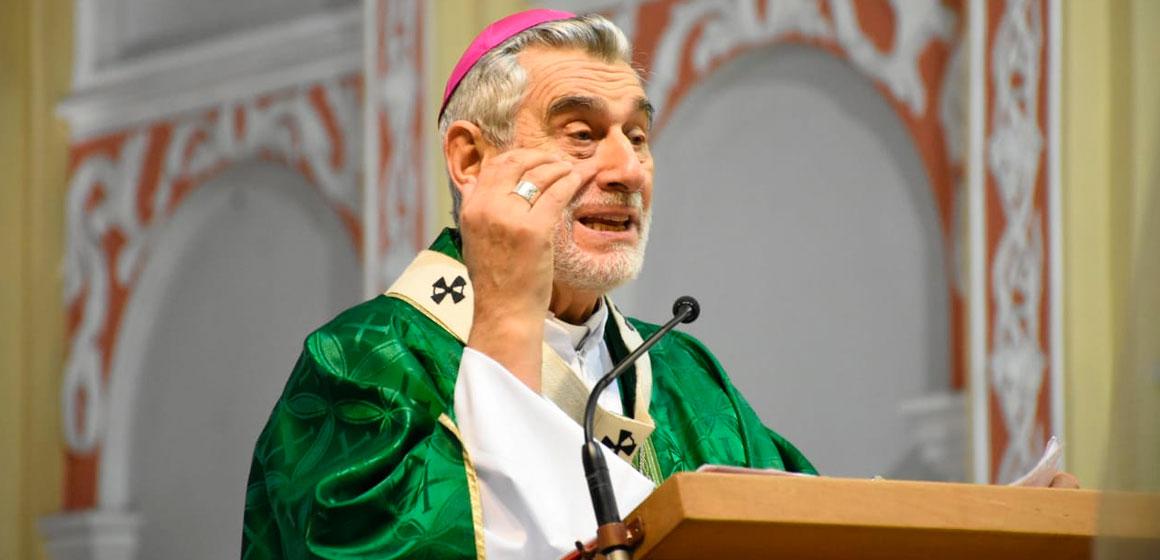 Al Papa Francisco, agradecemos su testimonio de buen Pastor al servicio de Dios