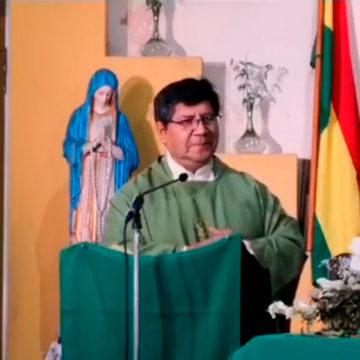 Celebracion del domingo XXII en la parroquia San Martin de Porres.
