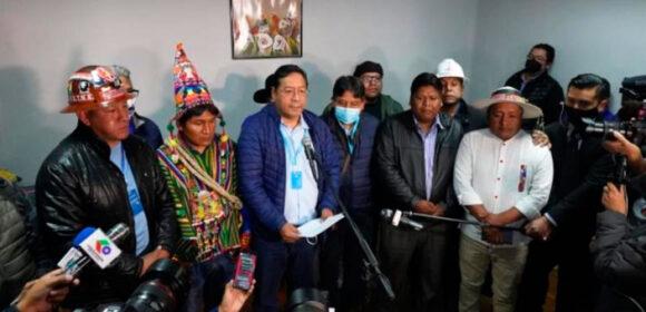"""Luis Arce Catacora: """"Vamos a gobernar para todos los bolivianos"""""""
