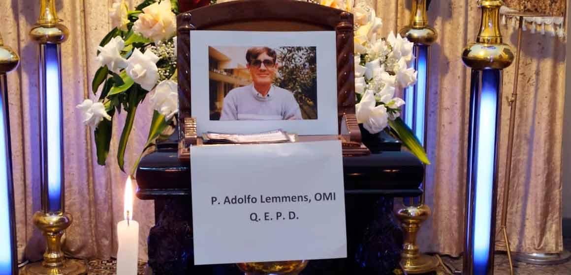 """Por P. Guillermo Siles: """"Adolfo Lemmens, Misionero Oblato Admirable, No Imitable""""."""