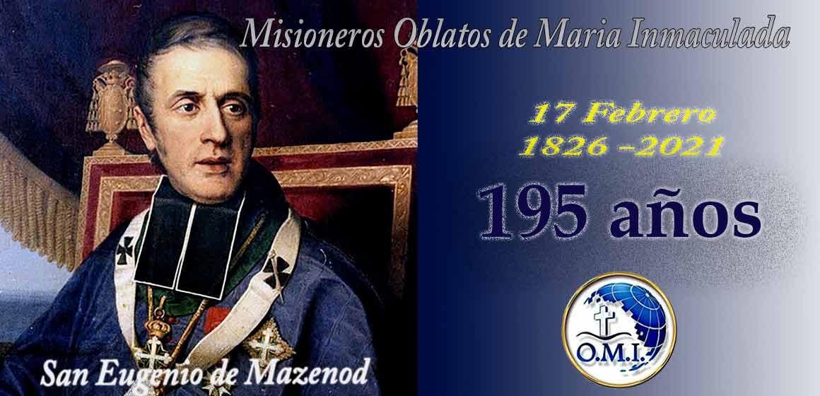 """Los OMI. Celebrando los """"195 Años De La Aprobación De Las Constituciones Y Reglas""""."""