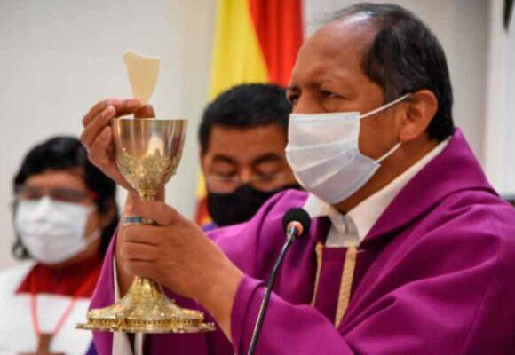 Arzobispo de Sucre pide dejar la descalificación y la inhabilitación en la etapa preelectoral
